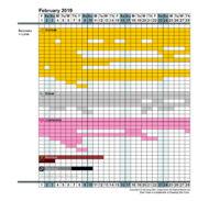 Instant Personal Health & Beauty Calendar - Magihelena