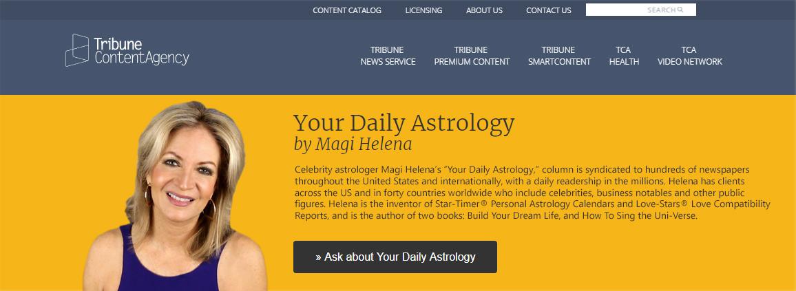 Horoscopes - Magihelena   Magihelena