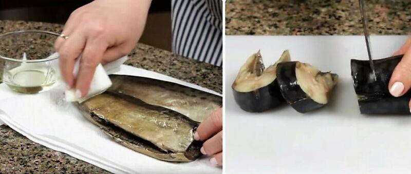 Makreel gezouten thuis is erg lekker