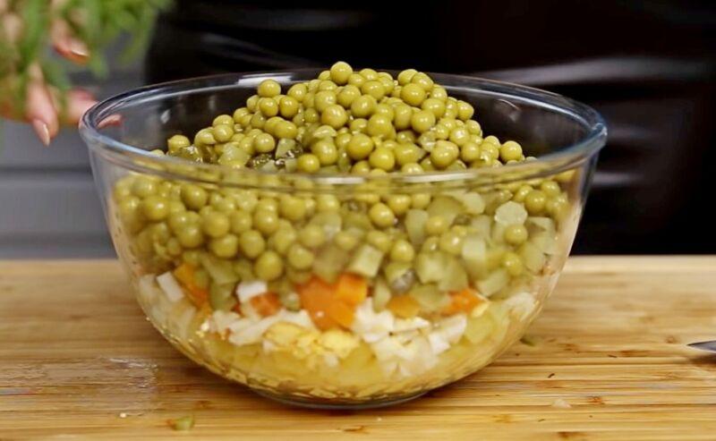 Лососьі бар оливье