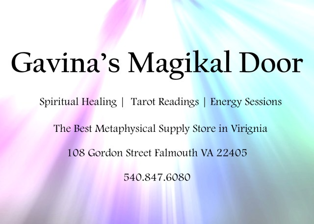 Gavina's Magikal Door NEW Location 108 Gordon Street Falmouth Va 22405