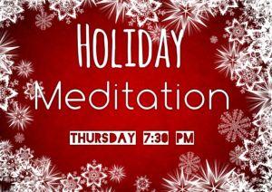 Magikal Door's Special Holiday Meditation Tonight! 7:30 PM 12/22/2016