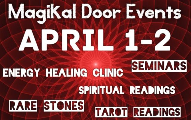 Magikal Door Events on April 1-2 Gem Show Fredericksburg VA