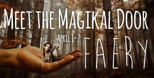 Meet The Magikal Door Faery April 1-2 Gem Show Fredericksburg VA Magikal Door Store Events