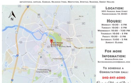 Fredericksburg va gis archives page 2 of 2 gavinas magikal door magikal door directions traveling on i 95 take exit 130a toward fredericksburg sciox Image collections