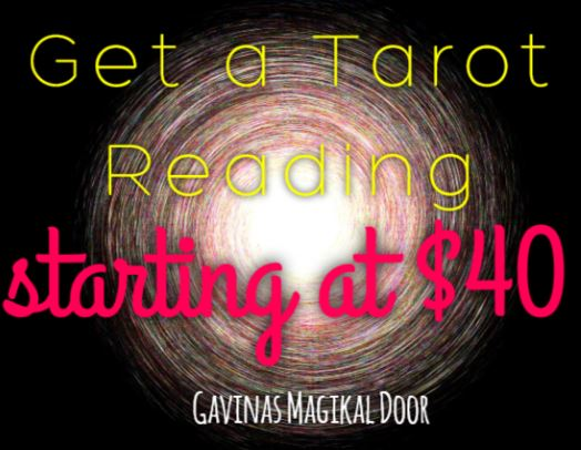 Get a tarot reading in Fredericksburg VA Gavinas Magikal Door