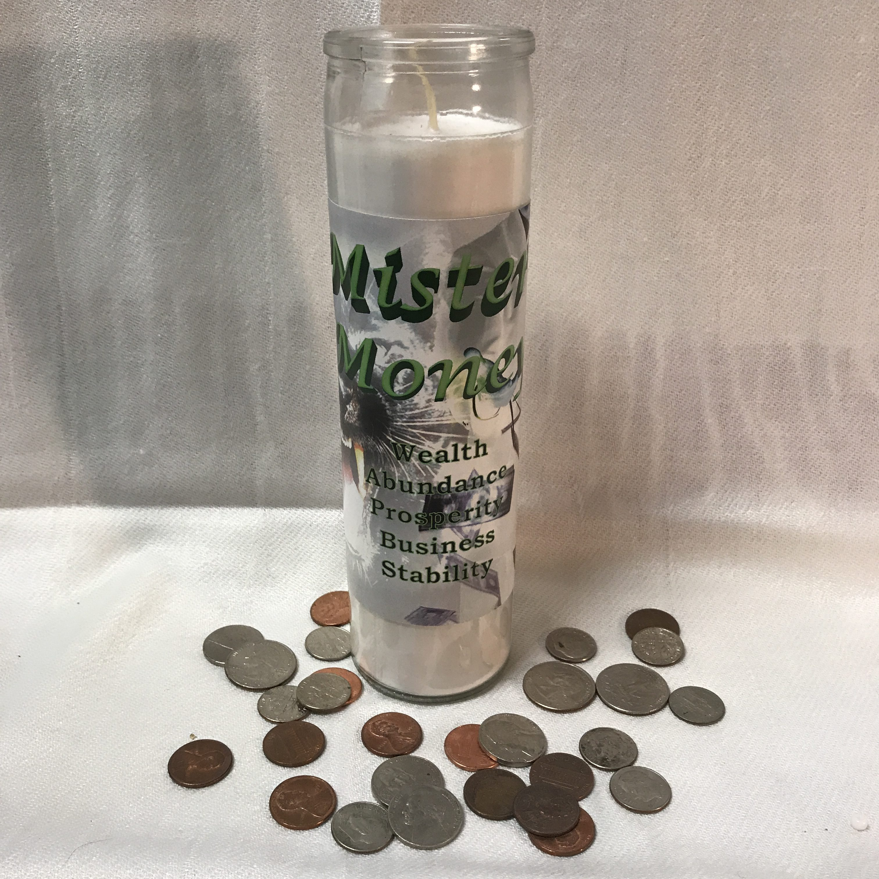 Mister Money Spiritual Candle