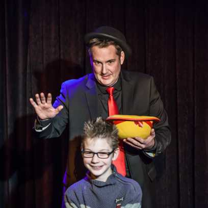 Fred martin magicien magik hopital3