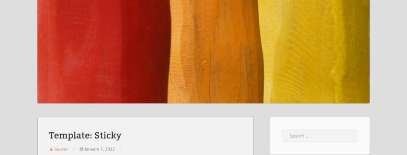 Screenshot of Mixr theme