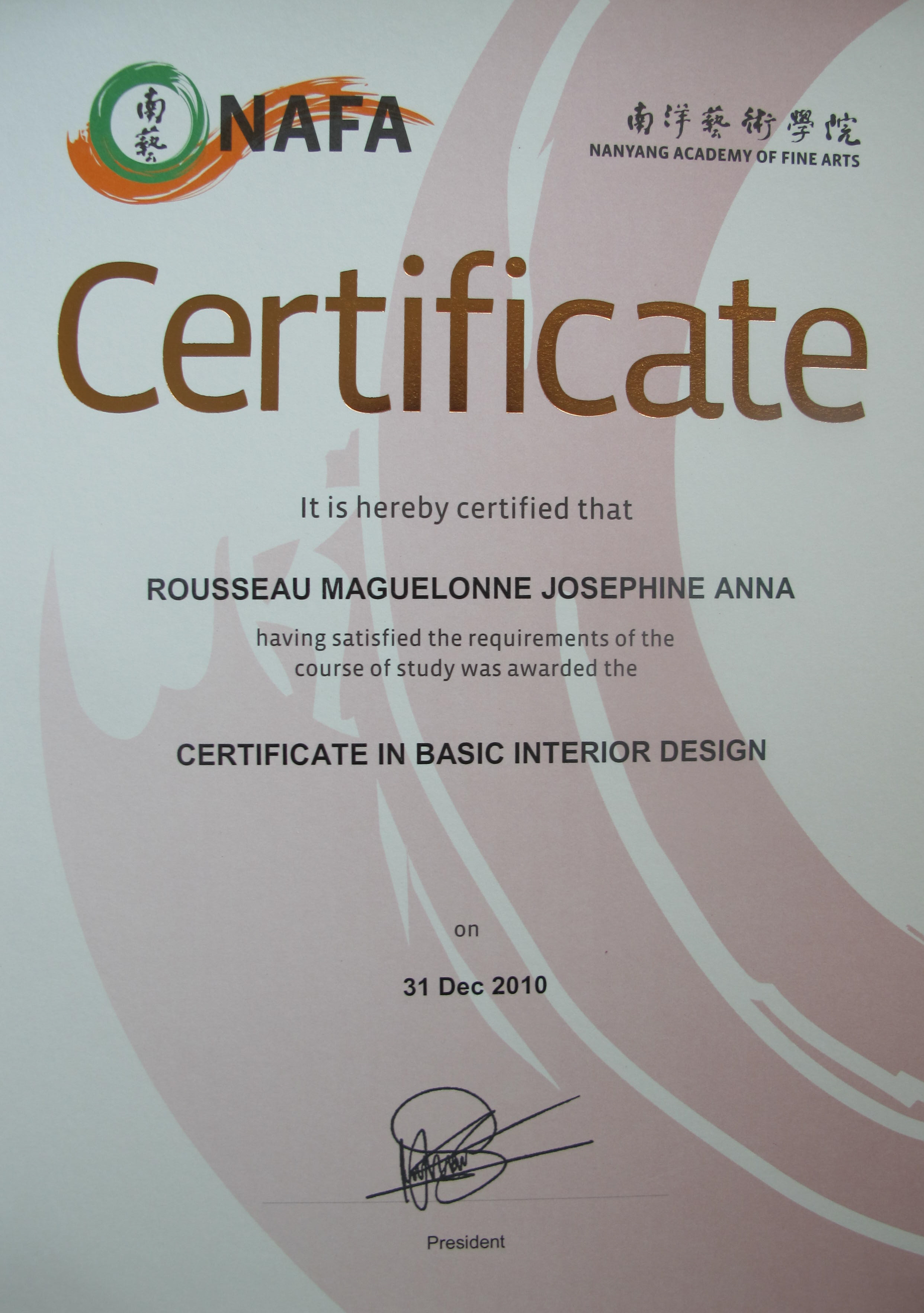 Interior Design Certificate Courses Interior Architecture Design
