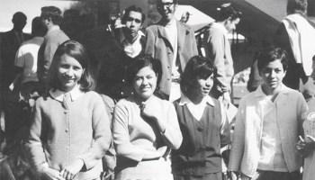 Alumnos del ITESO en la década de los sesenta. Foto: Archivo ITESO A.C.