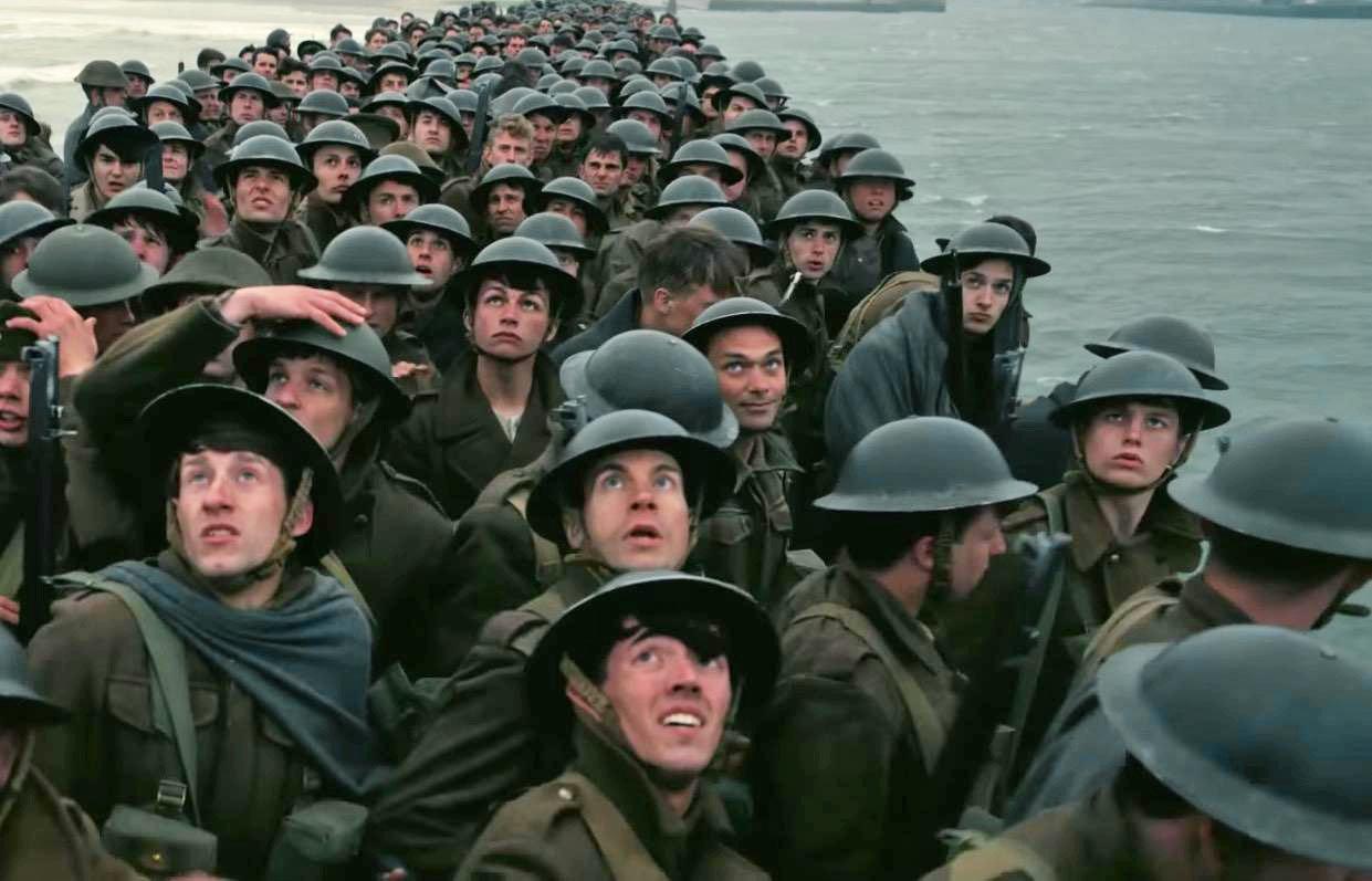 Imagen de la película «Dunkirk», de Cristopher Nolan