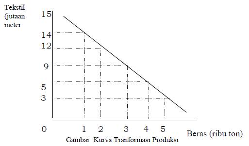 Kurva kemungkunan produksi, masalah utama dalam ekonomi