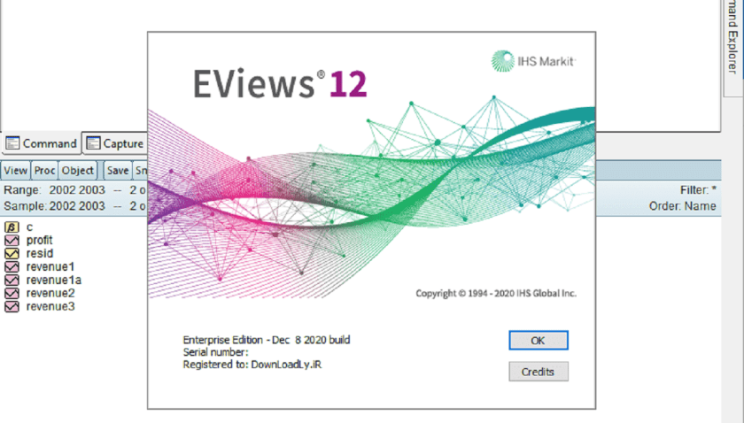 Download Eviews 12 Terbaru
