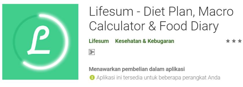 Aplikasi Android Membantu Program Diet