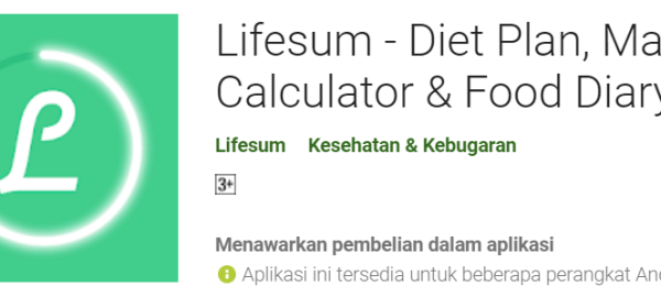 Aplikasi Android Membantu Program Diet