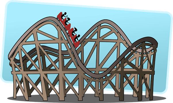 roler coaster seorang wirausaha