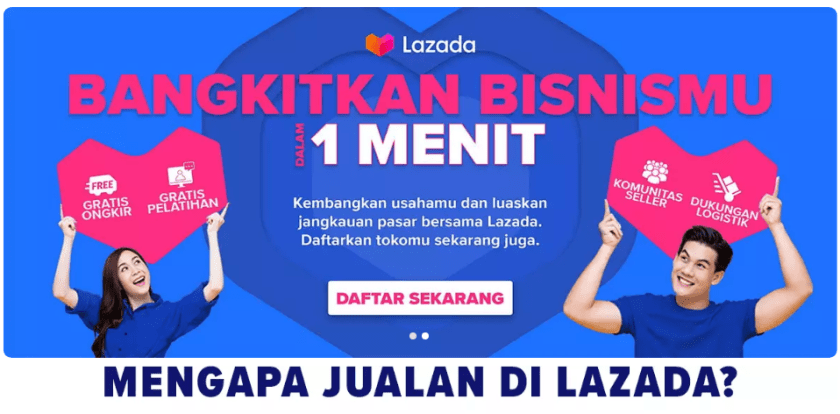 Cara Jualan di Lazada Untuk Pemula