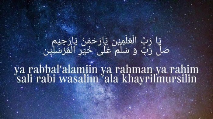 Lirik Lagu Sholawat Antassalam, Arab, Latin dan Terjemahnya