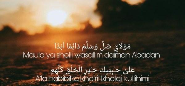 Lirik Lagu Sholawat Maula Ya Sholli Wasallim