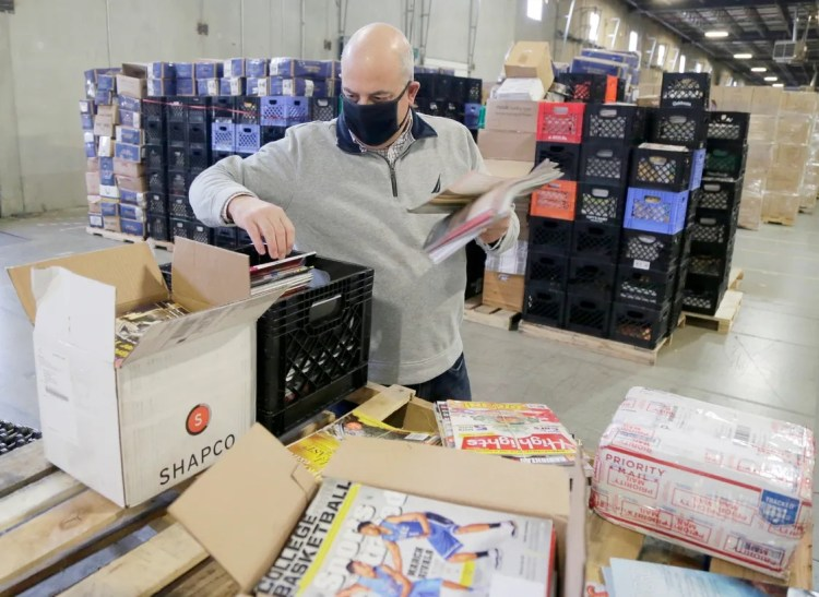 John Mennell of Granville started the first-ever literacy bank in Johnstown that offers magazines and reading material to people in need through his organization, MagLiteracy.