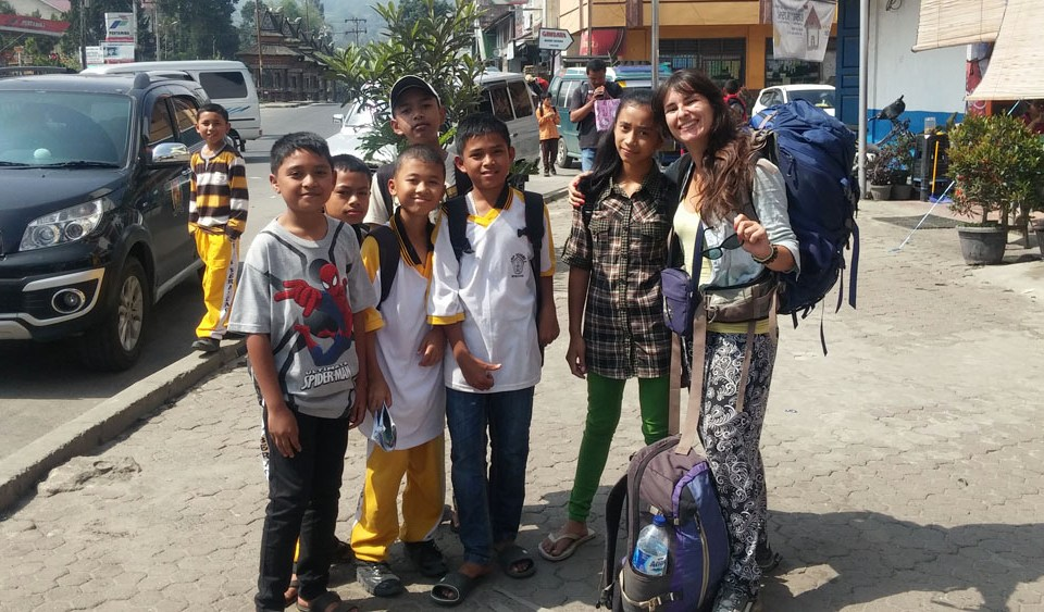 Le jour où je suis allée à Berastagi à Sumatra