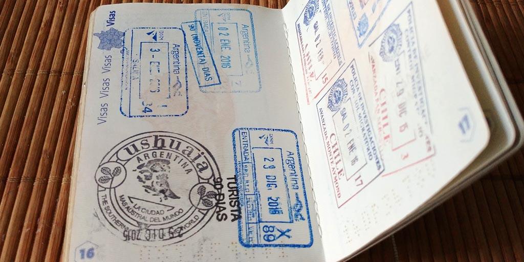 passeport tampon ushuaia