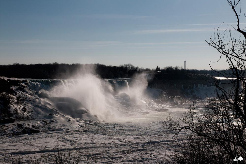 niagara falls hiver