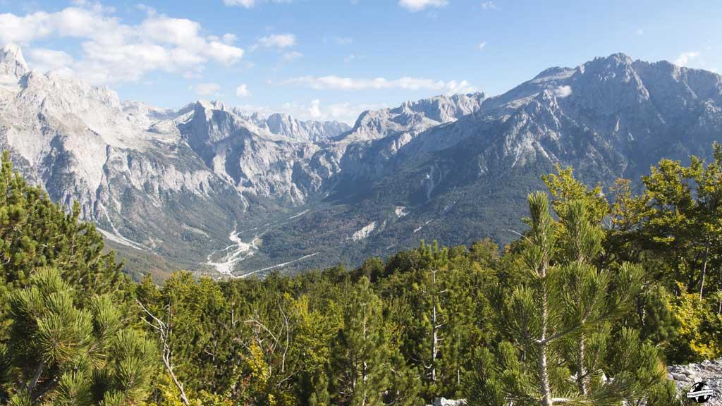montagne albanie