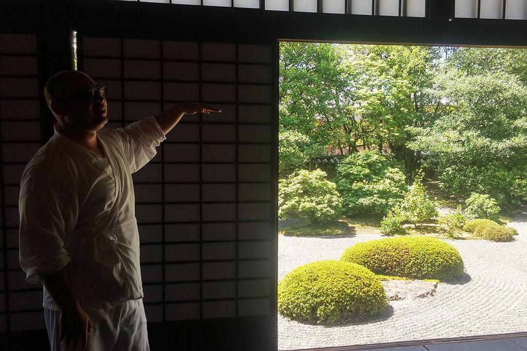 meditation kyoto temple
