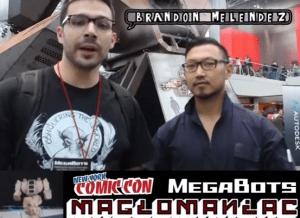 Mega Bots post picture comic con 2014