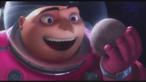 Though we can all agree that Mr. Gru's entire modus operandi was stolen from Carmen--along with the moon.