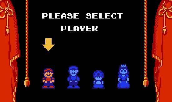 SMB2 - Character Selection-550x