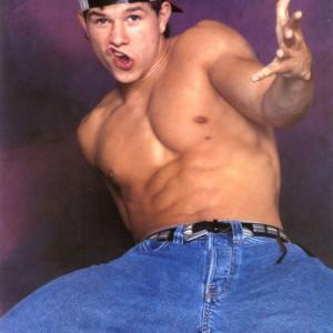 I'm pretty sure Mark Wahlberg didn't own a shirt until 1995.