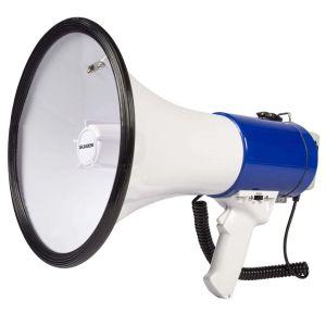 Haut parleur amplificateur portable à microphone – mégaphone 📣