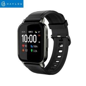Haylou – montre connectée solaire Haylou LS02, étanche IP68, 12 modèles de Sport, Bluetooth 5.0, moniteur de fréquence cardiaque