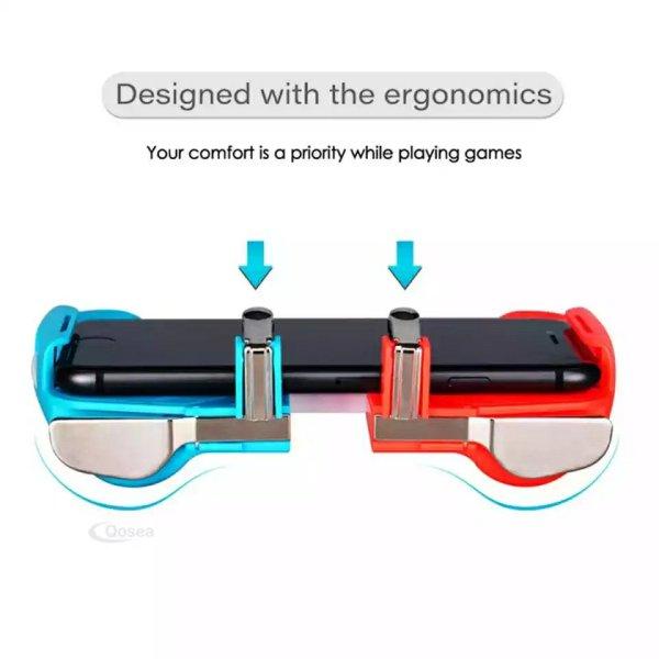PUBG – manette de jeu tout-en-un pour jeu Mobile, bouton de déclenchement, tir, tir, pour téléphone Android et iOS, L1R1