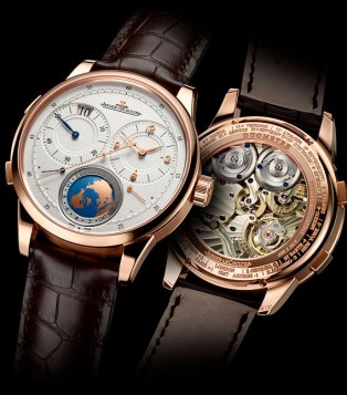 Jaeger-LeCoultre Duomètre Unique Travel Time en or rose