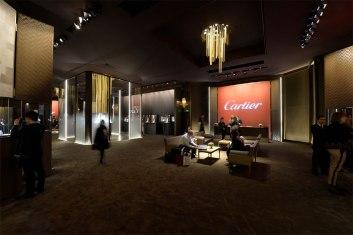 Pavillon Cartier au SIHH 2014