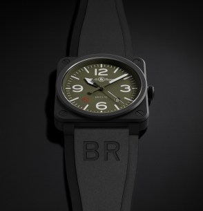 Bell & Ross BR03 92 Military Type - Baselworld 2015