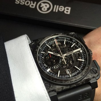 BR-X1 Carbone Forge - Copyright @Bellrosswatches