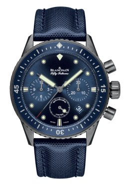 Blancpain Bathyscaphe Chronographe Flyback Ocean Commitment - Baselworld 2015