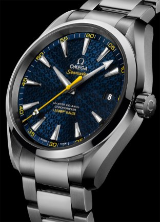 Omega Seamaster Aqua Terra James Bond - Baselworld 2015