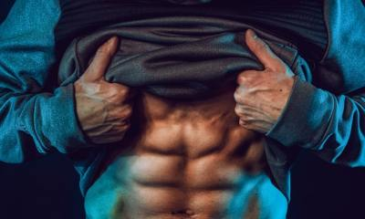 Abs lose body fat
