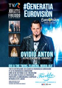 Afis Concert Freddo.