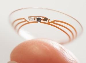 lentile contact senzor video
