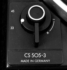 Dual CS 505-3 c