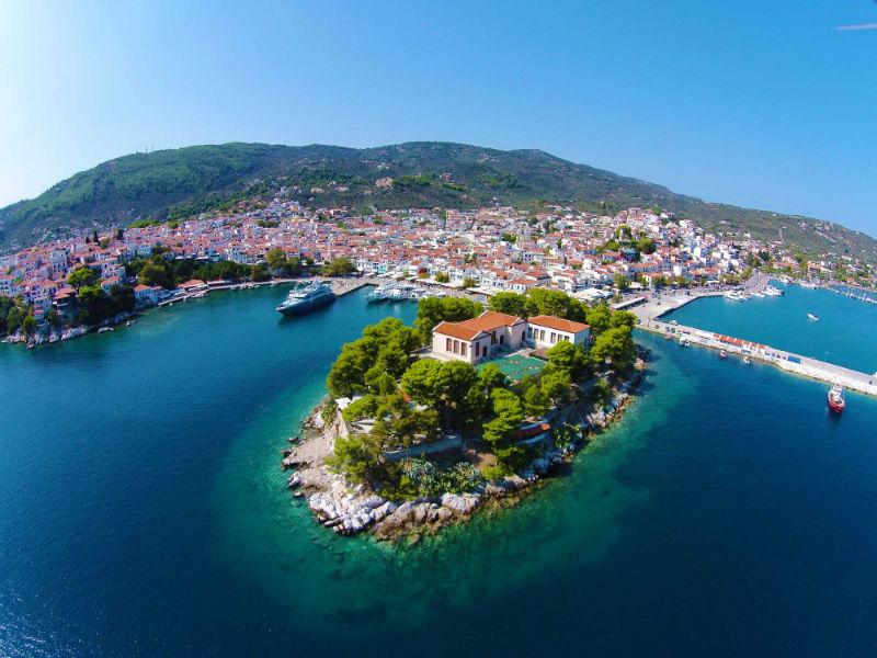Skiathos Boutzi Town