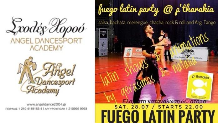 Fuego Latin Party At Ptharakia