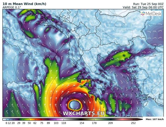 Μεσογειακού Κυκλώνα